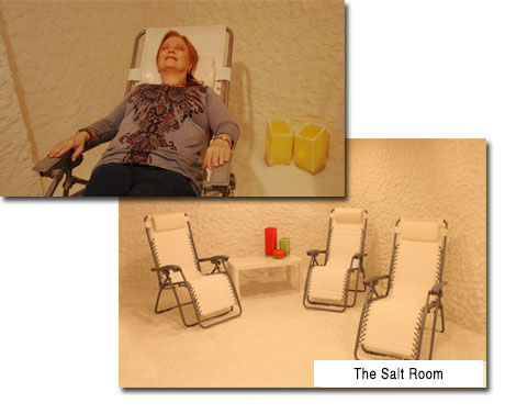Salt Therapy Sessions   Salt Room Winter Haven
